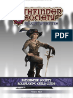 Pathfinder Roleplaying Guild Guide