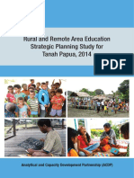 ACDP039 RRA Strategic Planning Study for Tanah Papua 2014