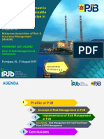 How Risk Management is Leverage for Sustainable Operations in Java Island, Indonesia Purwono Jati Agung