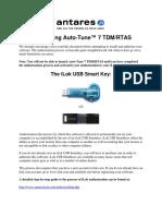 Auto-Tune 7 TDM RTAS Authorization Read Me