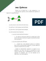 Combinaciones Químicas