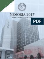 Memoria Anual Banco Central de Honduras 2017