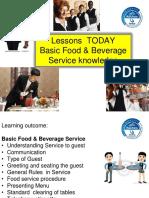 Basic Food & Beverage Service