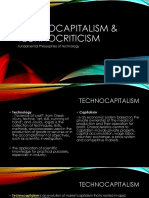 Technocapitalism & Technocriticism