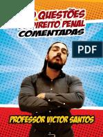 TD 100 QUESTÕES COMENTADA - PENAL