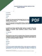 Informe de Inversion Privada