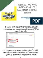 Instructivo Para Descargar Los Manuales Cto 9na Edición
