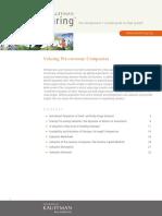 ACEF - Valuing Pre-revenue Companies
