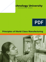 Principles of World Class Manufacturing