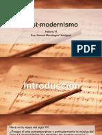 Post Modernismo