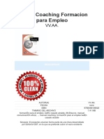 Manual Coaching Formacion Para Empleo