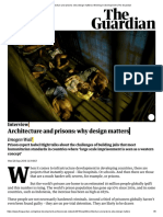 Architecture and Prisons Why Design Matters Working in Development the Guardian