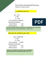 Estimación de Índices de Capacidad (1)
