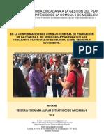 Informe Final Conformación Ccp Comuna 6