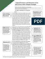 Annotated Argumentative Essay