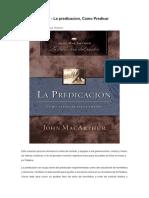 John Macarthur Descargar PDF