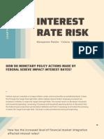 Interest Rate Risk presentation