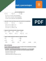 08 Proporcionalidad y Porcentajes
