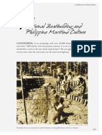 091 Traditional Boatbuilding and Philippine Maritime Culture