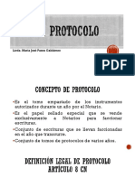 Presentaciòn El Protocolo