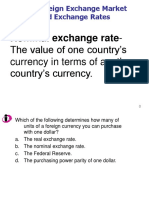 Session-8 Exchange Rate