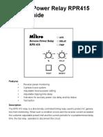 RPR415 Manual.indd