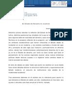 Ariza. PRUJULA, Sucre Ago 2012. Paper - El Estado de Derecho en Cuestión