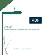 3V0 624 VMware Certified Advanced Professional 6.5 Data Center Virtualization Design