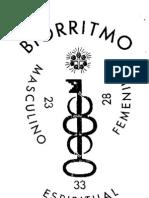 Krumm-Heller - Biorritmo [facsímil]