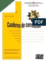 Cuaderno Correccion Matematicas