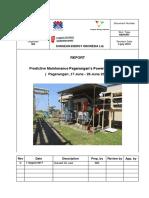 laporan pekerjaan preventive maintenance