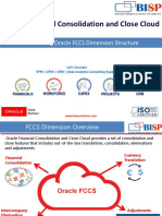 Oracle FCCS Getting Started Guide II