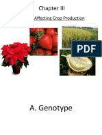 Crop morphology