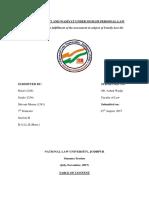 Fam Law Poject Divya Radhika