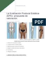 La Evaluación Postural Estática .doc