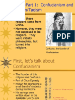 Confucianism and Daoism