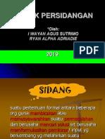 Teknik Persidangan Lkm Analis 2019