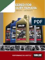 2010 Yamalube Catalog