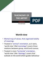 NEW Kajian Estetika S2 Mg 2 Taxonomy of The Artist, Traditional.pdf
