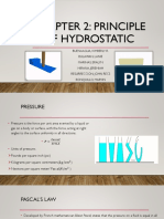 Hydrostatic Forces on Surface