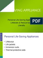 Life Saving Appliance
