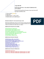 Kode Error Mesin Fotocopy RICOH.docx
