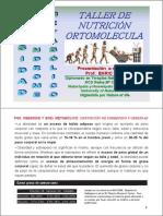 taller de nutricion ortomolecular