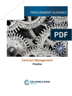 Contract Management Practice