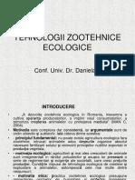 TEHNOLOGII ZOOTEHNICE ECOLOGICE