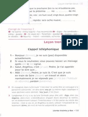 Espagnol B2 Part3