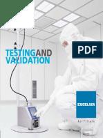 Testing and Validation e Catalogue
