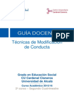 560014 Tecnicas de Modificacion de Conducta ES 15 16