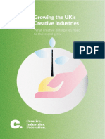 Creative Industries Federation - Growing the UK's Creative Industries