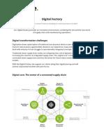 Digital Factory en 2018